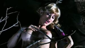 Evil Wife Porn - BurningAngel: Kleio Gets Fucked by Demon Tree in Evil Head Horror Spoof