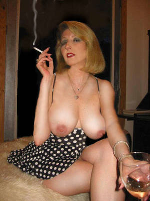 big tit mature smoking - An image by Wayupnorth: my idea of a hot date | Tagged by users as: geile  alte smoking mature milf big tits ...