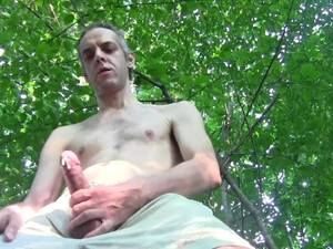 amateur solo cumshots - 2 HOT HUGE CUMSHOTS, NAKED CHEST, OUTDOOR IN PUBLIC GARDEN - HOMEMADE AMATEUR  SOLO