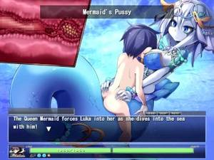 mermaid nude hentai - The request Button : Queen Mermaid (Monster girl quest 3)