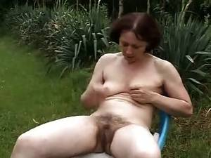 Mature Masturbate Outdoor - Granny Outdoors