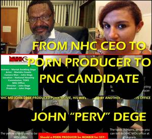 caught having office sex party - PNC Party has been rocked again this week after a video has surfaced online  which involves the wife of the former National Housing Corporation CEO and  now ...