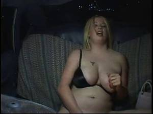 bbw hidden cam sex party - Horny Fat Chubby Party Girl Masturbating In Taxi Cab, P2