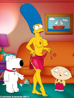 Big Boobs Marge Simpson Feet Porn - Marge Simpson with her big breasts