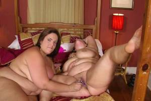bbw fat nudist - chick fat hat in party