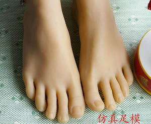 foot worship toys - Young sexy girl's silicone feet sex toy foot fetish toys porn real skin sex  dolls rubber solid realistic for male sex machines-in Sex Dolls from Beauty  ...
