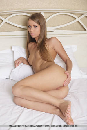 Blonde Female Solo - ... Teen solo girl Stella Lane spreading shaved vagina for glamour photo  shoot ...