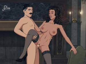 Archer Maid Porn - Archer - Lana Kane and Sterling Archer