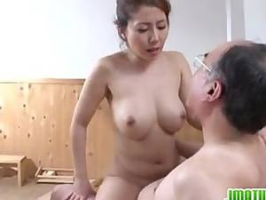 japanese mature free porn - Sleazy mature nailed in the sauna ...