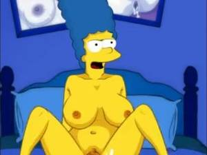 Big Boobs Marge Simpson Feet Porn - Marge big tits and Homer Simpson big dick. Cartoon video