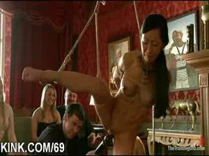 Busty Japanese Slave Porn - Busty hot sexy babe made into obedient slave