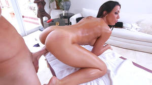 Babe Porn Clips - Dark-haired babe Rachel Starr taking hard, long shaft doggystyle