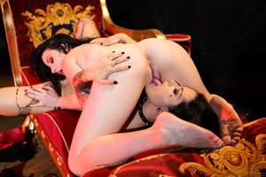 hot nude lesbians 69 - ... naked in stockings doggystyle position Sexy lesbians does 69