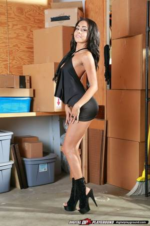 beautiful latina babe porn - Gulliana Alexis wearing sexy little black dress and high heels. Sexy Little  Black DressesHigh HeelsStarsLatinaPornHigh ...