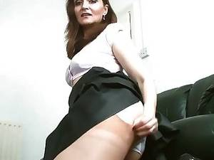 free ebony upskirt - Milf Upskirt Nylon Stocking High Heels Teasing