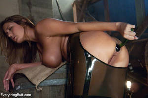 Latex Big Tits Anal - xpics.me - latex sex Trina michaels is dressed in sexy latex and stretches  her ass with big glass toy