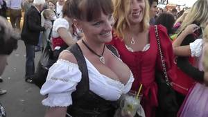 german public oktoberfest - Busty Mature at Oktoberfest