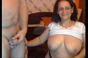 india granny xxx - Sexy Indian Granny with her Husband