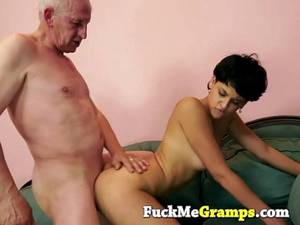 horny old man -