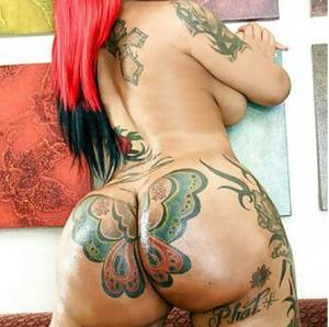 Baby Phat Porn - Baby Phat Booty and tattoo is so sexy