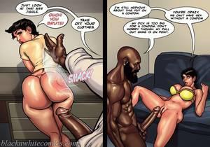 Humiliation interracial art