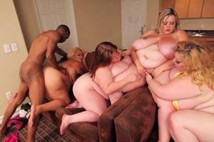 free plumper interracial - Fat Free Lady Porn
