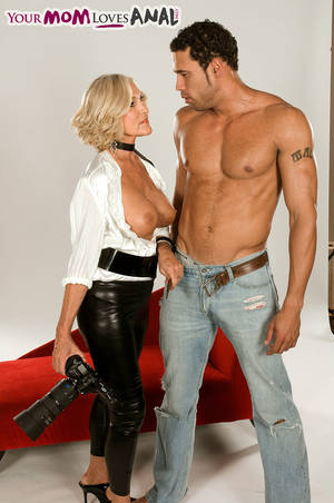 mature leather anal -