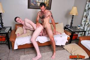 kiss huge white cock - ... Wank-This-Maxx-Fitch-and-Josh-Pierce-Huge-