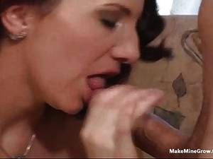 milf sucking cock swallows cum - Curly Babe Suck Cock And Swallow Cum