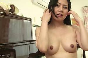 japanese milf mature - 41Ticket - Japanese Mature Azusa Stripped and Creampied After Cooking