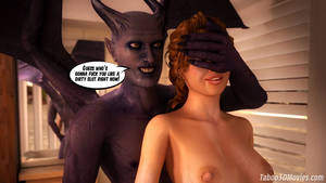 Evil Wife Porn - ... Succubus Slut 3D video porn comics about hot cute girl fucked by evil  in shower ...