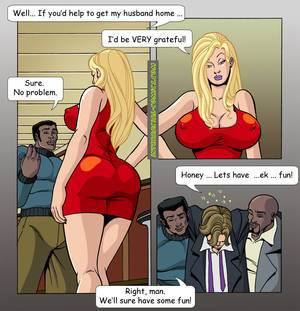 gangbang my interracial wife cartoon - The black guys are the best friends of your wife! Do not forget that!