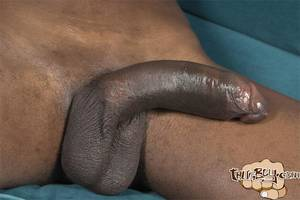 big black cock uncut - ... Thug-Boy-Tyrelle-Big-Black-Uncut-Cock-Jerk- ...