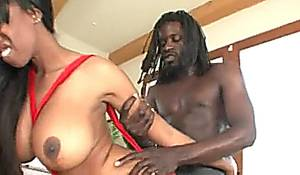 long ebony anal -