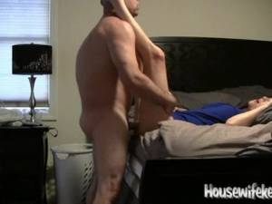 homemade amateur housewife pounded - Wife gets Pounded in Homemade Video