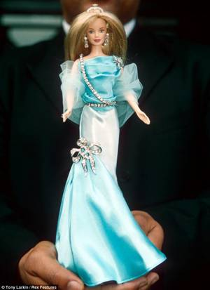 barbie doll pregnant delivery - A £50,000 Barbie: Blue Ivy's present no doubt looks something like this  lady -