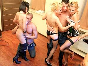 hot group orgy fuck party -