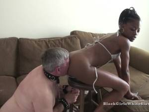 black lesbian anal tonguing - White Tongue In Black Ass