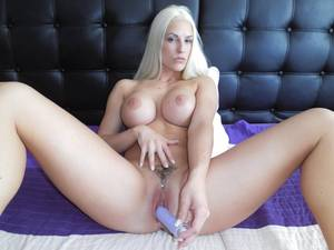 Blonde Female Solo - Blanche Bradburr - Solo Czech Blonde with a Pink Dildo Czechvr vr porn  video vrporn.