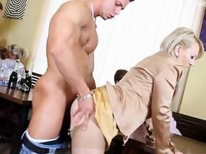 mature anal pix - Horny daughter intense anal