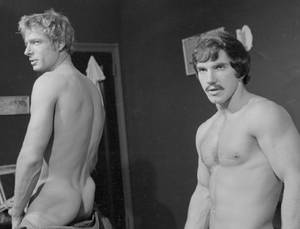1950s Gay Porn In America - vintage classic handsome naked - Jack Wrangler (left) and ROGER - 1980 gay  porn