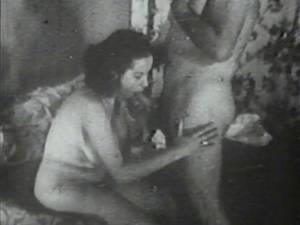 1940s Xxx Porn - ... Wife's Cunt Fucked Hard by her Husband