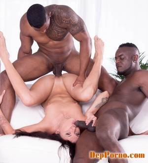 interracial double vag - Verona Sky - Verona Sky, her first interracial trioes with double vaginal  [HD 720p