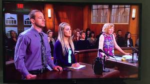 in front of - JUDGE JUDY Man admits to porn addiction in front of EVERYONE