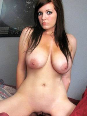 Busty German Brunette - German chubby and busty brunette babe ...