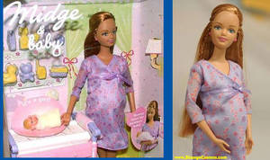 barbie doll pregnant delivery - One of Barbie's ...