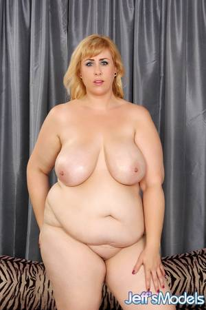 best chubby tits - ... Hot BBW Amazon Darjeeling showing off saggy tits & spreading huge ...