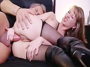 mature leather anal - Dressed in Leather and Fucked