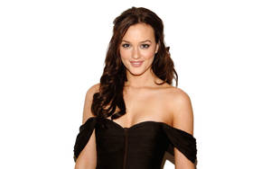 Disney Star Turned To Porn - 10 - Leighton Meester posing in evening gown. Leighton Meester, a famous  actress and