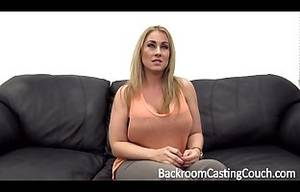 Big Tits Milf Casting - Big Tit MILF Assfuck on Casting Couch